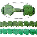 Bruz Beads, Bruz sintetike, Mollë, asnjë, asnjë, ngjyra të përziera, 17x18x6mm, : 2mm, :17Inç, 10Fillesat/Shumë,  Shumë