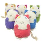 Çanta kyçe, Velveteen, Kafshë, asnjë, ngjyra të përziera, 120x120x50mm 225mm, 10PC/Shumë,  Shumë