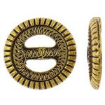 Cilësimet Zink Alloy Cabochon, Round Flat, Ngjyra antike ari praruar, asnjë, asnjë, , nikel çojë \x26amp; kadmium falas, 21x3.5mm, 50PC/Qese,  Qese