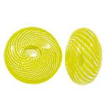 Beads lulëzim Lampwork, Round Flat, fryj, asnjë, asnjë, 16.5x12mm, : 2-2.5mm, 50PC/Qese,  Qese