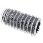 Tiger Wire Tail, Shape Tjera, asnjë, asnjë, e zezë, 0.45mm, :100m, 10PC/Shumë,  Shumë