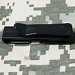 Lidh plastike, Drejtkëndësh, asnjë, asnjë, e zezë, 25mm, 100PC/Qese,  Qese