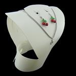 Moda bizhuteri Display, Plastik, Bust, asnjë, asnjë, e bardhë, 375x410x0.60mm, 20PC/Qese,  Qese