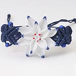 Porcelani byzylyk, with Cord najlon, Lule, endura, asnjë, asnjë, 30-50mm, : 7-10Inç, 5Fillesat/Shumë,  Shumë