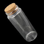 Nail bizhuteri Box, Xham, with Dru, Shape Tjera, asnjë, i tejdukshëm, asnjë, 47x118mm, : 32mm, 10PC/Shumë,  Shumë