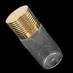 Nail bizhuteri Box, Xham, with Alumin, Shape Tjera, asnjë, i tejdukshëm, asnjë, 22x53mm, : 10.5mm, 100PC/Shumë,  Shumë
