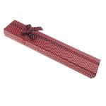 Box karton Gjerdan, Drejtkëndësh, asnjë, verë e kuqe, 42x210x21mm, 24PC/Qese,  Qese