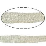 Lace Wire Ribbon, Tunxh, Shape Tjera, asnjë, asnjë, bezh, , nikel çojë \x26amp; kadmium falas, 10mm,  m