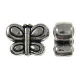 Beads Alloy zink Kafshëve, Flutur, Ngjyra antike argjendi praruar, asnjë, asnjë, , nikel çojë \x26amp; kadmium falas, 10.50x8x4.50mm, : 1.5mm, 710PC/KG,  KG