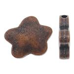 Beads Alloy zink Lule, ngjyrë bakri të praruar antike, asnjë, asnjë, , nikel çojë \x26amp; kadmium falas, 13x11x3mm, : 1.5mm, 710PC/KG,  KG