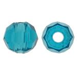 Swarovski Crystal Beads, Rondelle, Indicolite, 3mm, : 1mm, 50PC/Qese,  Qese