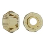Swarovski Crystal Beads, Bicone, Lt Topaz, 3mm, : 1mm, 50PC/Qese,  Qese