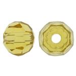 Swarovski Crystal Beads, Rondelle, Gëlqere, 4mm, : 1mm, 50PC/Qese,  Qese