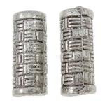 Beads Zink Alloy Tube, Alloy zink, Ngjyra antike argjendi praruar, asnjë, asnjë, , nikel çojë \x26amp; kadmium falas, 5.5x13.5mm, : 3.5mm, 1110PC/KG,  KG