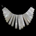 Pendants Natyrore White Shell, asnjë, asnjë, asnjë, 4x10-30x4mm, : 1mm, 3Fillesat/Shumë,  Shumë