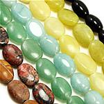 Beads bizhuteri gur i çmuar, Shape Tjera, natyror, asnjë, 8-40mm, : 2mm, :14Inç, 50Fillesat/Shumë,  Shumë