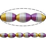 Beads dorë Lampwork, Oval, brushwork, asnjë, multi-colored, 15x10mm, : 3mm, 10PC/Shumë,  Shumë
