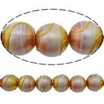 Beads dorë Lampwork, Round, brushwork, asnjë, multi-colored, 12mm, : 1.5mm, 10PC/Shumë,  Shumë