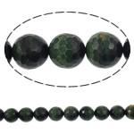 Syri Tiger Beads, Round, natyror, faceted, 14mm, : 1mm, : 15.7Inç, 5Fillesat/Shumë,  Shumë