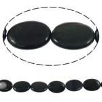 Syri Tiger Beads, Oval, natyror, asnjë, 12.50x17.50x4mm, : 0.5mm, :16Inç, 5Fillesat/Shumë,  Shumë