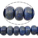 Beads lapis lazuli, Natyrore lapis lazuli, Rondelle, natyror, 5x8mm, : 0.9mm, :16Inç, 5Fillesat/Shumë,  Shumë