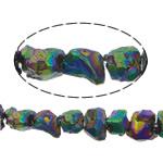 Beads kuarc bizhuteri, Beads citrine, Nuggets, colorful kromuar, asnjë, 4-5mm, : 1.2mm, :16Inç, 5Fillesat/Shumë,  Shumë