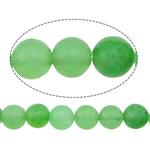 Beads Mermer Natyrore, Round, i lyer, 6mm, : 1mm, :16Inç, 10Fillesat/Shumë,  Shumë