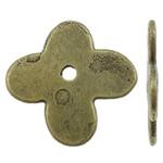 Beads aliazh zink Flat, Alloy zink, Kryq, Ngjyra antike bronz i praruar, asnjë, asnjë, , nikel çojë \x26amp; kadmium falas, 11.5x1mm, : 1.5mm, 2000PC/KG,  KG