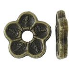 Beads Alloy zink Lule, Ngjyra antike bronz i praruar, asnjë, asnjë, , nikel çojë \x26amp; kadmium falas, 10x1.5mm, : 2mm, 1000PC/Qese,  Qese