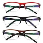 Eyewear Frames, TR90, Shape Tjera, asnjë, asnjë, ngjyra të përziera, 33x130x130mm, 5PC/Shumë,  Shumë