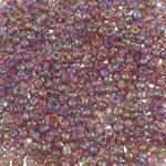 Transparent Glass Beads Seed, Seed Glass Beads, Round, ylber, i tejdukshëm, purpurtë drita, 2x1.9mm, : 1mm, 30000PC/Qese,  Qese