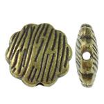 Beads Alloy zink Lule, Ngjyra antike bronz i praruar, asnjë, asnjë, , nikel çojë \x26amp; kadmium falas, 13.5x5mm, : 1.5mm, 370PC/KG,  KG