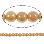 Beads kuarc bizhuteri, Kuarc Natyrore, Round, colorful kromuar, asnjë, 6mm, : 1mm, : 15.5Inç, 5Fillesat/Shumë,  Shumë