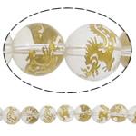 Beads kuarc bizhuteri, Kuarc Natyrore, Round, prarim, asnjë, 12mm, : 2mm, : 15Inç, 5Fillesat/Shumë,  Shumë