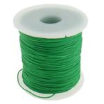 Cord najlon, e gjelbër, 1mm, : 100Oborr,  PC
