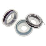 Tiger Wire Tail, Shape Tjera, electrophoresis, asnjë, ngjyra të përziera, 0.45mm, : 100m, 10PC/Qese,  Qese