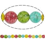 Kërcitje Beads kuarc, Kuarc Natyrore, Round, asnjë, 12mm, : 1.5mm, : 15.7Inç, 20Fillesat/Shumë,  Shumë