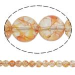 Kërcitje Beads kuarc, Rose kuarc, Round, natyror, 12mm, : 1.5mm, : 15.7Inç, 20Fillesat/Shumë,  Shumë