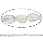 Beads kuarc bizhuteri, Kuarc qartë, Nuggets, natyror, asnjë, 10x14mm, : 1.5mm, : 15.7Inç, 20Fillesat/Shumë,  Shumë