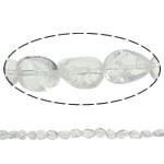 Beads kuarc bizhuteri, Kuarc qartë, Nuggets, natyror, asnjë, 15x20mm, : 1.5mm, : 15.7Inç, 20Fillesat/Shumë,  Shumë