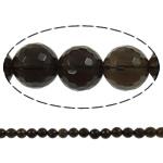 Beads kuarc bizhuteri, Tym kuarc, Round, asnjë, 10mm, : 1.5mm, : 15.7Inç, 20Fillesat/Shumë,  Shumë