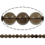 Beads kuarc bizhuteri, Tym kuarc, Round, natyror, asnjë, 8mm, : 1.5mm, : 15.7Inç, 20Fillesat/Shumë,  Shumë