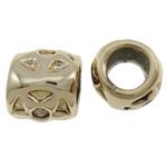 Beads Zink Alloy Vendosja, Alloy zink, Tub, ngjyrë ari praruar, asnjë, asnjë, , nikel çojë \x26amp; kadmium falas, 8.5x8.5mm, : 5mm, 100PC/Qese,  Qese