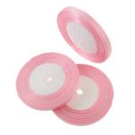 Grosgrain Ribbon, asnjë, asnjë, rozë, 0.7cm, : 1250Oborr, 50PC/Shumë,  Shumë