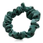 Elastike Hair, Silk pe, Shape Tjera, elastik, njollë e zezë, e gjelbër, 65x65mm, 34PC/Shumë,  Shumë