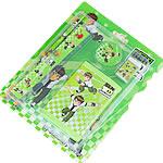 Letër shkrimi, Plastik, Drejtkëndësh, asnjë, asnjë, e gjelbër, 210x170mm, 20Sets/Shumë, 5 pcs/set,  Shumë