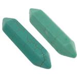 Bruz Beads, Bruz Natyrore, Bicone, i lyer, nuk ka vrimë, ngjyra të përziera, 8x32mm, 50PC/Shumë,  Shumë
