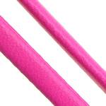 Cord lëkure, PU, Shape Tjera, asnjë, asnjë, rose rozë, 4x2mm, 100PC/Shumë,  Shumë