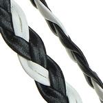 Cord lëkure, PU, Shape Tjera, asnjë, dy-ton, asnjë, 8x12mm, 100m/Shumë,  Shumë