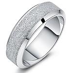 Çeliku Stainless Ring Finger, Stainless Steel, Shape Tjera, asnjë, për njeriun & i mbuluar me brymë, ngjyra origjinale, 7mm, :9.5,  PC